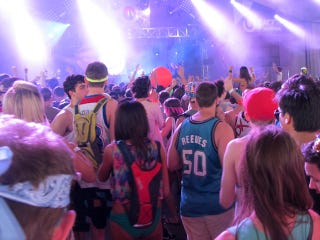 Illustration for article titled Tripping Basketballs: Hoopsters Are Alive And Well At The Ultra Music Festival