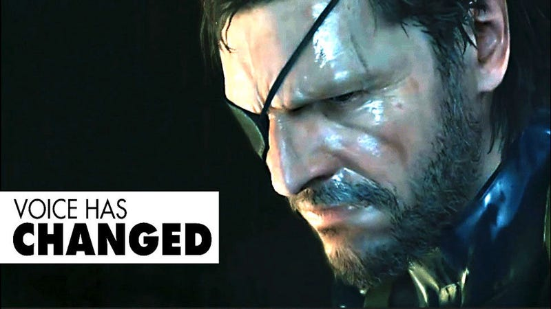 Illustration for article titled Beloved Solid Snake Voice Actor Says He Wasn't Asked to Be in Metal Gear Solid V