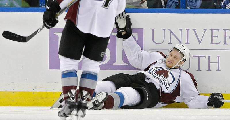 Illustration for article titled Nathan MacKinnon Scores Two Goals In 13 Seconds