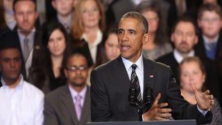 President Barack ObamaJohn Gress/Getty Images