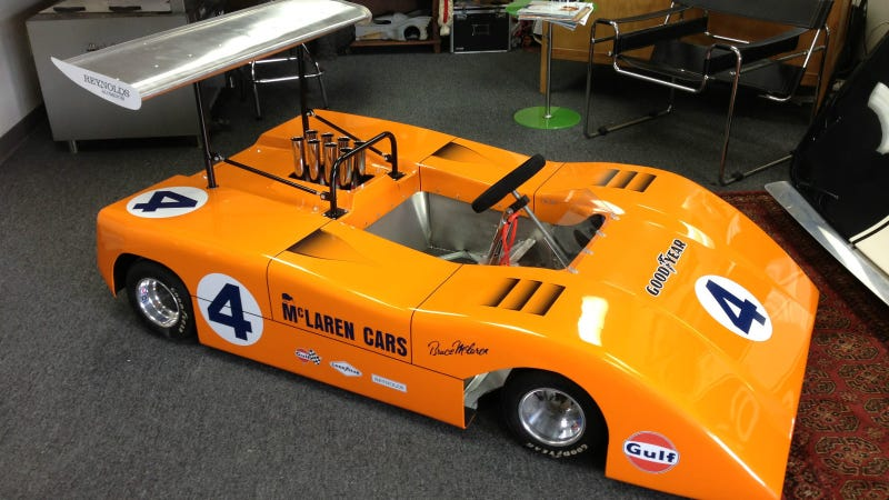 Illustration for article titled 1969 McLaren Can-Am Car, Yours For $12,500