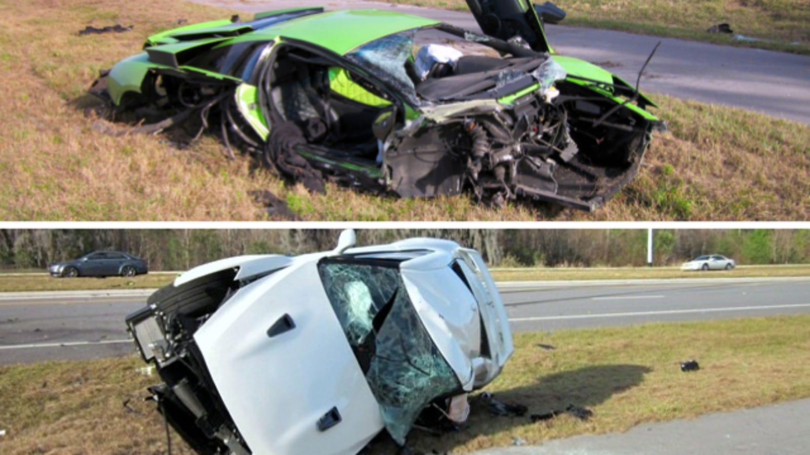 Police Say Deadly Nissan GT-R/Lamborghini Crash Was Not