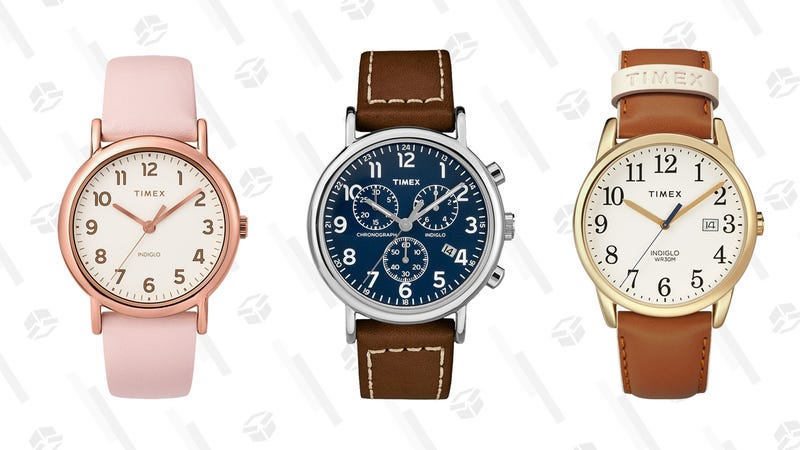 35% Off Easy Reader and Weekender Collections | TIMEX | Promo code EVERYDAY35