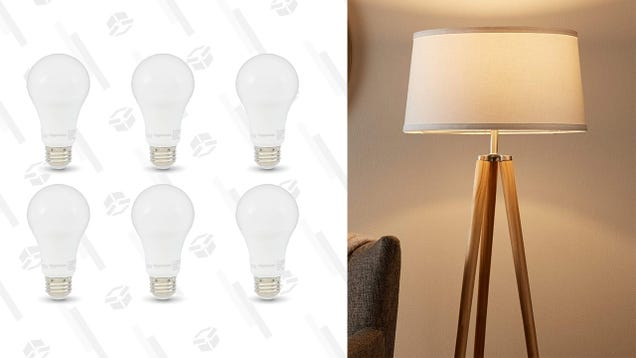 This 6-Pack of Light Bulbs Is Only $14 and Will Never Leave You In The Dark