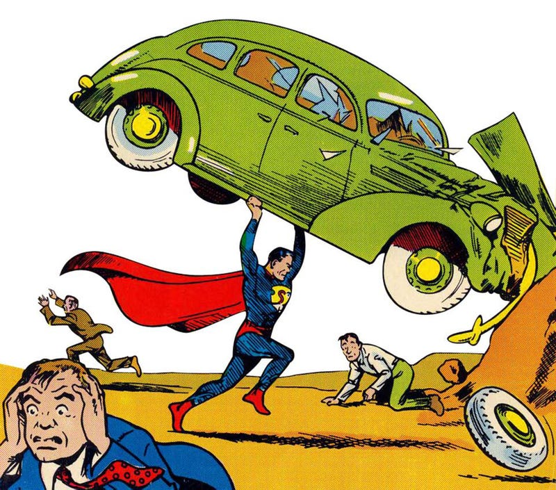 Illustration for article titled Superman Turns 75