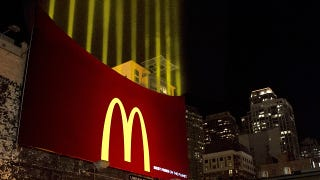 Illustration for article titled McDonald's Creates a Light Version Of Its Fries For Their New Billboard