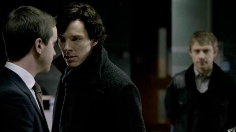 """Illustration for article titled Sherlock: """"The Blind Banker"""""""