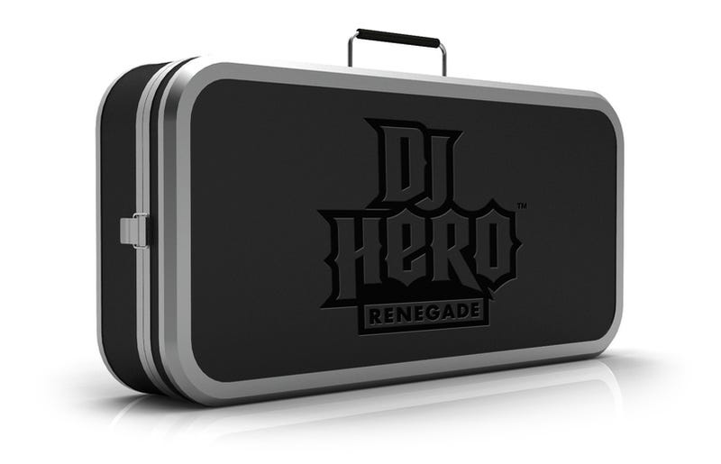 Illustration for article titled DJ Hero Gets Carrying Case, DJ Stand