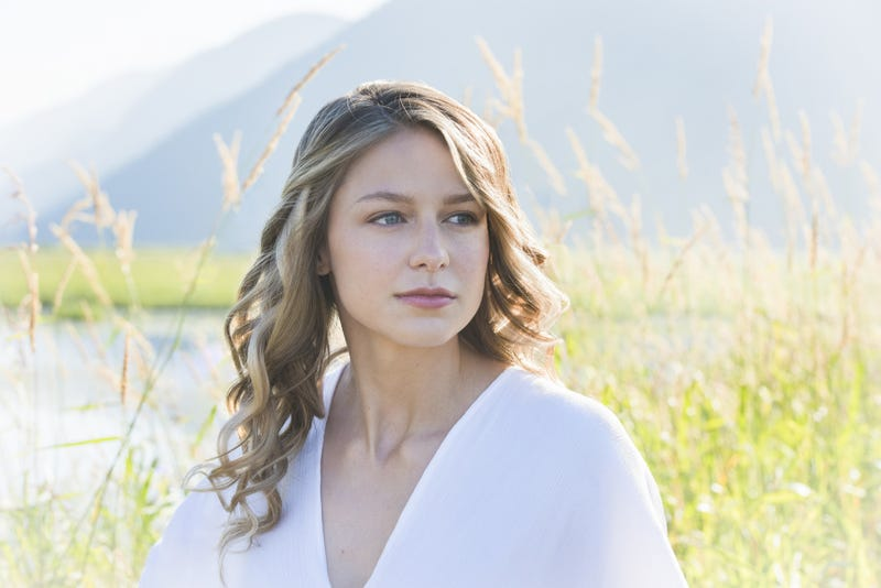 Supergirl's Melissa Benoist, in a pensive moment (Photo: Dean Buscher/The CW)