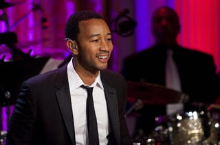 Crooner John Legend performs on PBS Motown special.