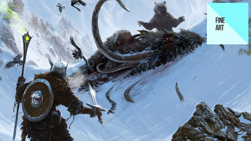 Illustration for article titled Some Concept Art From The Elder Scrolls V: Skyrim