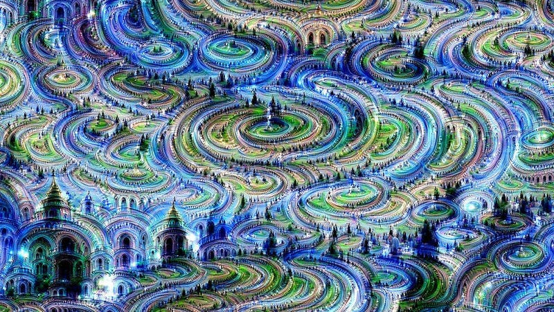 The kind of crazy art you expect from a story about the origin of the universe (Image: MIT Computer Science and AI Laboratory)