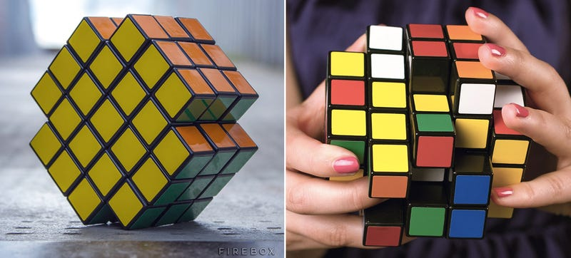 Illustration for article titled If Evil Were a Puzzle, It Would Look Like This X-Shaped Rubik's Cube