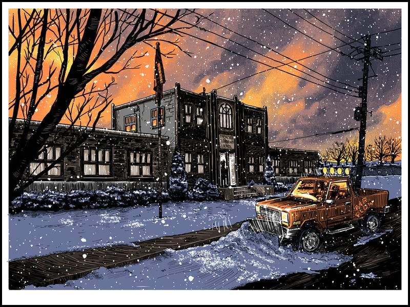 Illustration for article titled Get Tim Doyle's Springfield Elementary Print