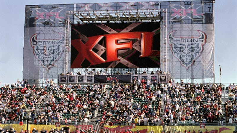 Illustration for article titled That awful XFL revival is apparently still happening, will air games on ABC, Fox, and ESPN