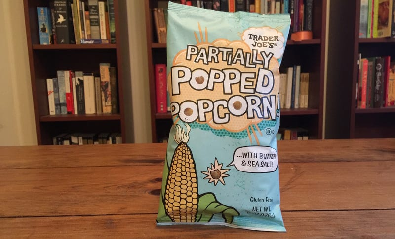 Illustration for article titled Bougie Food Review: Partially Popped Popcorn