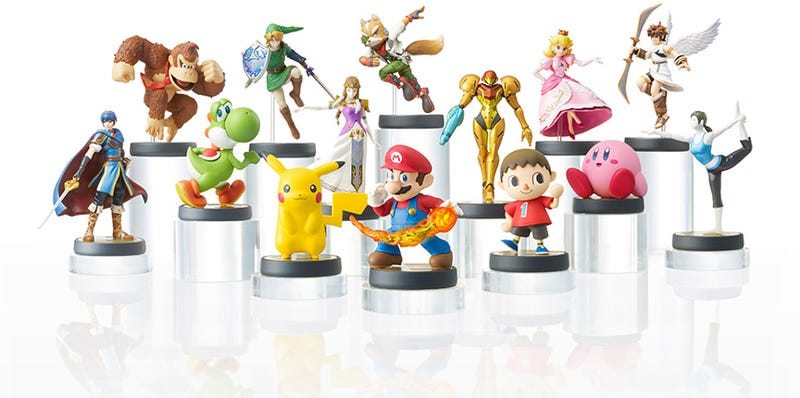 Illustration for article titled Damn, Nintendo Is Selling Lots of Amiibos