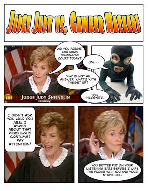 Illustration for article titled Judge Judy Takes On The Gawker Hackers