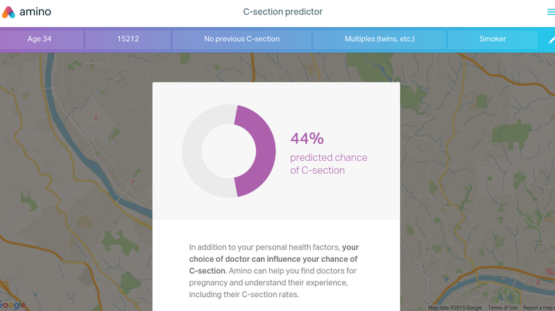 Illustration for article titled This Calculator Predicts Your Chance of Having a C-Section