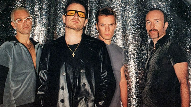 Illustration for article titled U2's electronic-heavy Pop deserves more respect for its risk-taking