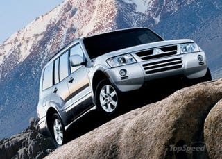 Illustration for article titled GEN3 Mitsubishi Montero