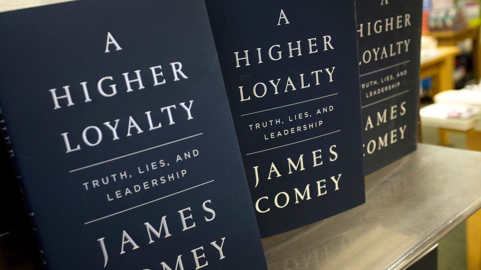 Only 'Verified' Buyers Can Review James Comey's Book on Amazon, Much to the Dismay of Trump Supporters