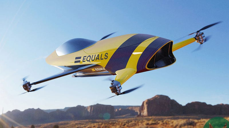 Illustration for article titled Airspeeder Wants to Reinvent Racing With Single-Seat Flying Electric Cars