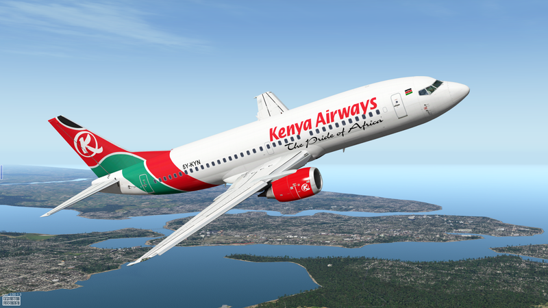 Illustration for article titled Kenya Airways Welcomes the World's Fastest Passenger Jet