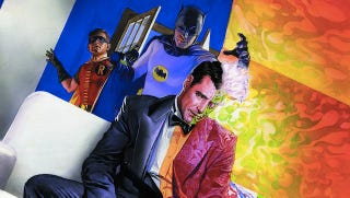 Illustration for article titled The 1966 Batman TV Show Finally Reveals Its Two-Face