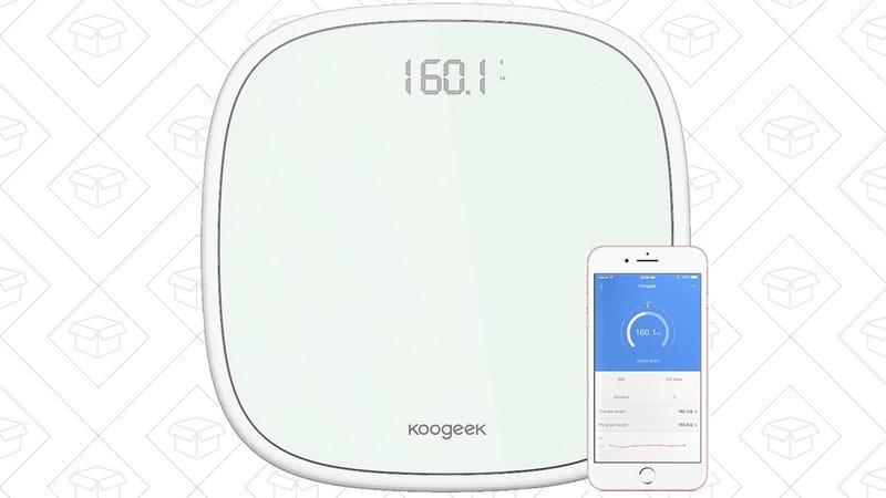 Koogeek Smart Scale, $25 with code 8PMM6WDY