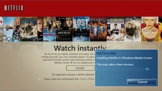 Illustration for article titled Streamlined Netflix Experience Now Available On Windows 7 Media Center