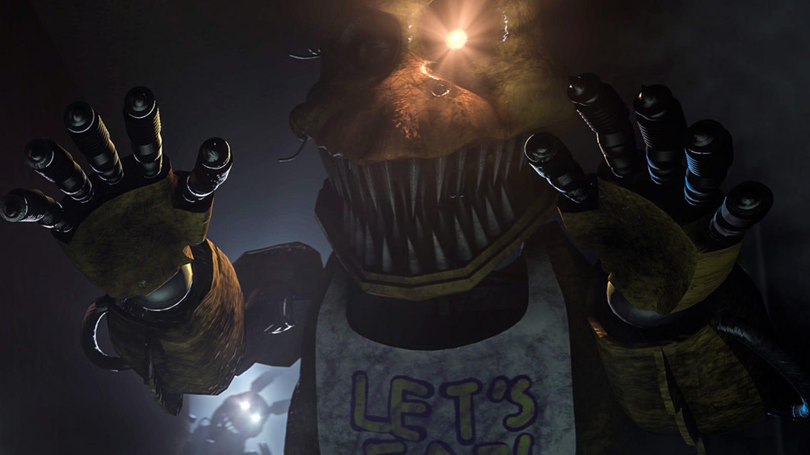 Five Nights at Freddy's 4 aterriza por sorpresa en Steam, descárgalo ya