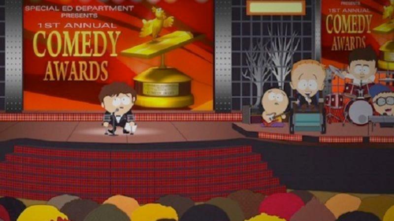 "Illustration for article titled South Park: ""Funnybot"""