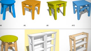 Illustration for article titled DIY Design Bank Curates Basic Designs and Instructions for Building Simple Furniture