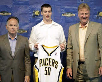Illustration for article titled Are The Pacers Too White ... Or Not White Enough?