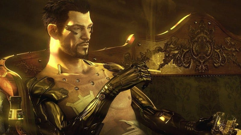 Illustration for article titled A robot body allows the star of Deus Ex: Human Revolution to become more human