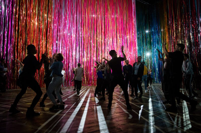 Park Avenue Armory's presentation of The Let Go, an immersive performance and installation by Nick Cave, in New York City