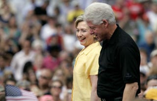 Bill Clinton and Hillary Clinton in 2007Scott Morgan/Getty Images