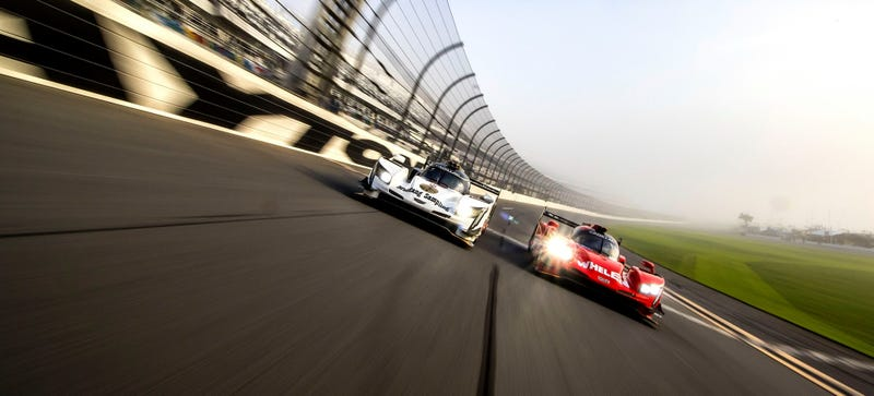 Your Daytona front row. Photo credit: Action Express Racing