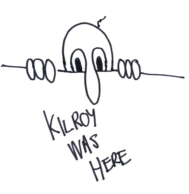 """La leyenda de """"Kilroy was here"""": Un enigma para Hitler"""
