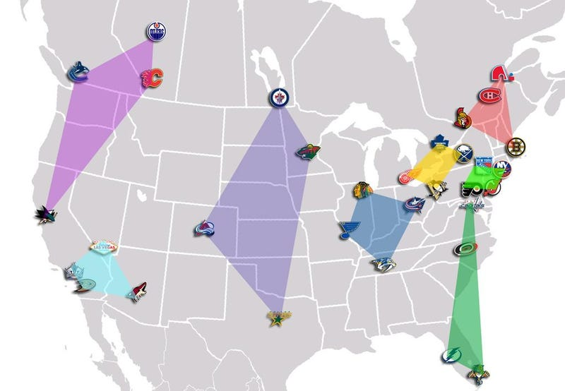Illustration for article titled How A 32-Team NHL Might Look