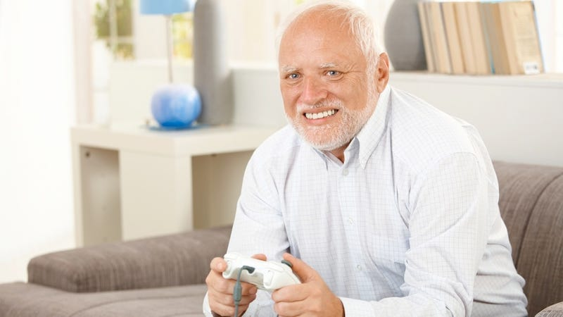 Illustration for article titled Fake Gamer Of The Week: Grandpa Just Saw Aeris Die