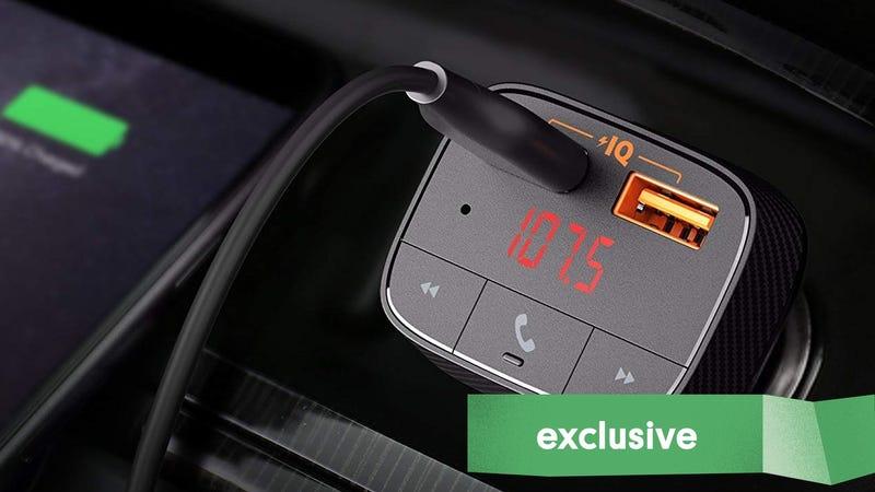 Anker SmartCharge F0 Bluetooth FM Transmitter | $13 | Amazon | Promo code ROAVKJF6