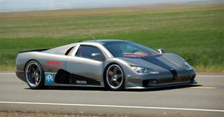 Illustration for article titled At 71% Throttle, SSC Ultimate Aero TT Hits 241 MPH