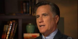 Mitt Romney, failed 2012 GOP presidential candidateNBC News screenshot
