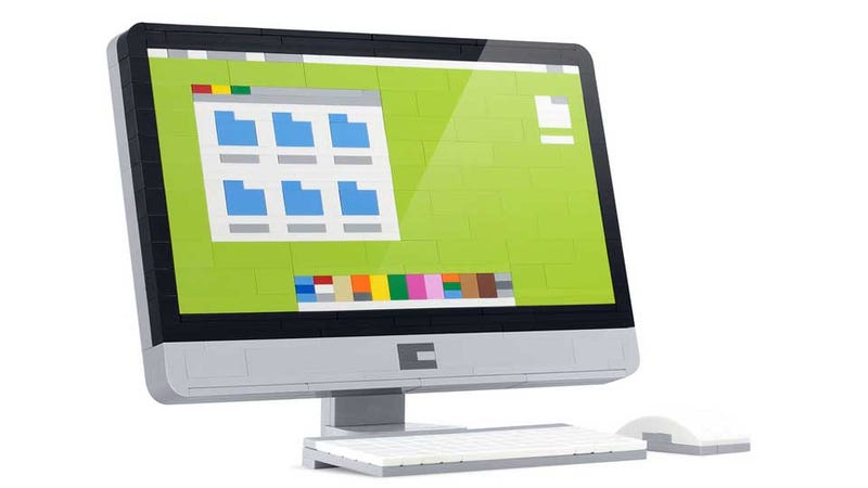 Illustration for article titled The Lego iMac Could Only Be More Perfect If It Actually Worked