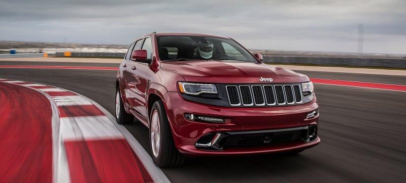 Illustration for article titled The Jeep Grand Cherokee SRT Lives But The Chrysler 300 SRT Doesn't