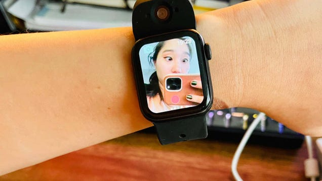 No One Wants a Smartwatch With Two Cameras