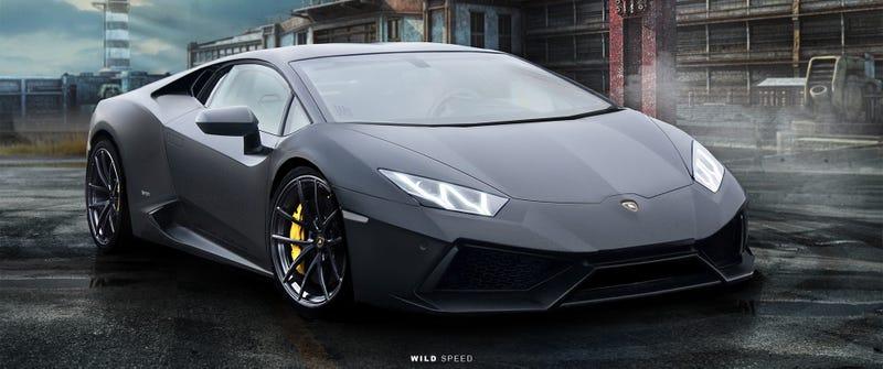 Illustration for article titled Lamborghini Cabrera Renderings