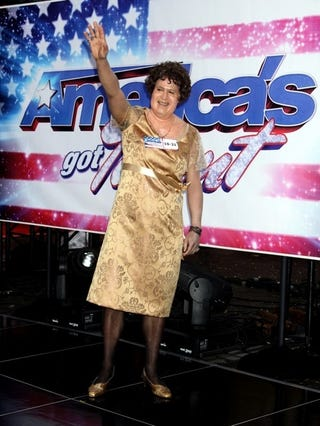Lester Holt Dreams A Dream In His Susan Boyle Costume